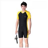 hesapli Blue Dive®-Bluedive Erkek Kadın's Çocuklar için Unisex Streç Dalış Elbisesi Hızlı Kuruma Ultravioleye Karşı Dayanıklı Ön Fermuar Tam Kaplama Güneş