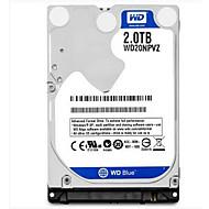 WD 2TB ラップトップ/ノートブックハード・ディスク・ドライブ 5400 SATA 3.0(6Gb /秒) 8メガバイト キャッシュ 2.5 inch-WD20NPVZ