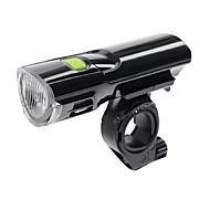 billige Sykkellykter og reflekser-LED Lommelygter / Frontlys til sykkel LED Sykkellykter Sykling Mulighet for demping, Flere moduser AAA Batteri Camping / Vandring / Grotte Udforskning / Sykling