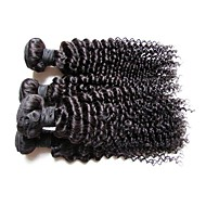 4bundles 400g brazilian afro kinky curly virgin human hair top 12a grade best quality 100% natural unprocessed original hair natural black color