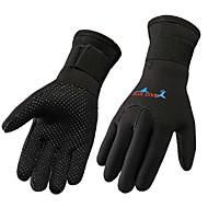 Bluedive Dykning Handsker 3mm Nylon Neopren Fuld Finger Taktisk Hold Varm Slidsikkert Dykning Sejlsport Kajaksport / Børne