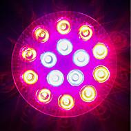 18W E27 LED növény izzók 18 Nagyteljesítményű LED 1620-1800 lm Piros Kék V 1 db.