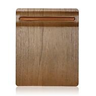 SAMDI macia esteira de madeira mouse pad multi-funcional com porta caneta superfície ultra suave para mouse com madeira maciça porta