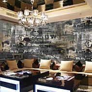 Art Deco 3D Hjem Dekoration Moderne Vægbeklædning, Lærred Materiale Lim påkrævet Vægmaleri, Værelse Tapet