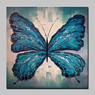 billiga Djurporträttmålningar-HANDMÅLAD Djur Pop olje,Moderna Realism En panel Kanvas Hang målad oljemålning For Hem-dekoration