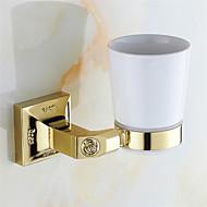 Diş Fırçalık Banyo Gereçleri / Altın Neoklasik