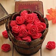 billige Kunstige blomster-10 Gren Styropor Roser Bordblomst Kunstige blomster