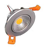 baratos Luzes LED de Encaixe-ZDM® 1pç 5 W 500-600 lm Lâmpadas de Foco de LED 1 Contas LED COB Decorativa Branco Quente / Branco Frio 85-265 V / 1 pç / RoHs