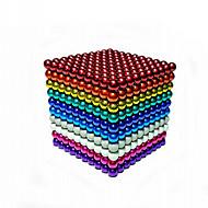 512 pcs 5mm Magnetiske puslespil Magnetiske kugler Byggeklodser Puslespil Cube Magnet Chic & Moderne Børne Drenge Pige Legetøj Gave