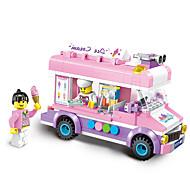 ENLIGHTEN Speelgoedauto's Bouwblokken Bouwset speelgoed 213 pcs Automatisch IJs verenigbaar Legoing Creatief Schattig Elegant & Luxe Glamoureuze & Dramatische Cartoon Jongens Meisjes Speeltjes