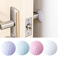 After Wall Thickening Mute Door Fenders Golf Modelling Rubber Handle Door Lock Protective Pad Protection Wall Stick