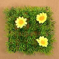 1 Gren Plastikk Gulvblomst Kunstige blomster