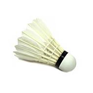 1 Stück Badminton Federbälle aus echten Federn Wasserdicht Langlebig für Gänsefeder