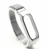 billiga Smart klocka Tillbehör-Klockarmband för Mi Band Xiaomi Sportband Metall Handledsrem