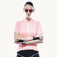 ieftine MYSENLAN®-Mysenlan Pentru femei Manșon scurt Jerseu Cycling Bicicletă Jerseu, Respirabil Poliester