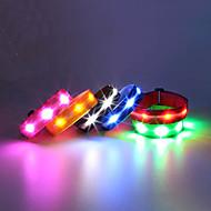Braçadeira de Corrida com LED Pulseiras Refletivas Tamanho Compacto para Campismo / Escursão / Espeleologismo Ciclismo Montanhismo