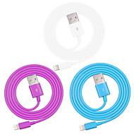 voordelige -appel mfi gecertificeerd bliksem naar USB data sync laadkabel voor iPhone 7 6s 6 plus se 5s 5 / ipad (100cm)