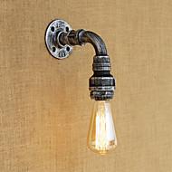 AC 110-130 40 E26/E27 Rustikk Retro Vintage Maleri Trekk for Mini Stil Pære inkludert,Atmosfærelys Vegglamper Vegglampe