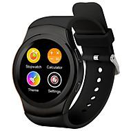 tanie Inteligentne zegarki-Inteligentny zegarek Ekran dotykowy Pulsometr Spalone kalorie Krokomierze Video Kamera/aparat Śledzenie odległości Długi czas czuwania