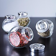 150ml RAJTAN Spice Jar Glass Bottle Cruet Sweden Food Storage with Aluminium Cover