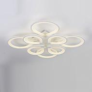 8 fej modern stílus egyszerűség akril led mennyezeti lámpa süllyesztett nappali étkező világítótest