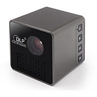 preiswerte -UNIC P1 DLP Mini-Projektor LED Projektor 15/30 lm Unterstützung 720P(1280x720) 7-70 Zoll Bildschirm / nHD (640x360)