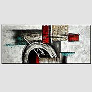 halpa -käsin maalattu abstrakti moderni, yksi paneeli kangas öljymaalaus sisustusta