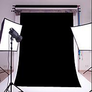 3x5ft černý tenký vinyl fotografování pozadí studio prop fotografie pozadí