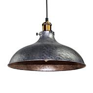 halpa -vintage riipus valot teollisuus 1-vaalea hopea harmaa metalli ruokasali eteinen kahvila valaistus