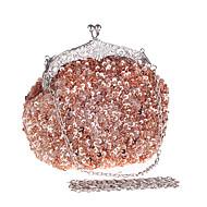 女性 バッグ オールシーズン プラスチック イブニングバッグ アクリルジュエル のために 結婚式 イベント/パーティー フォーマル コーヒー ダークグリーン Dark Brown ダークレッド バイオレット