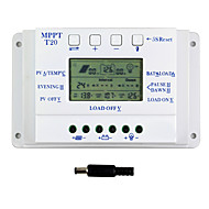 20A LCD Solar Charge Controller 12V 24V auto switch dual timer Y-SOLAR T20