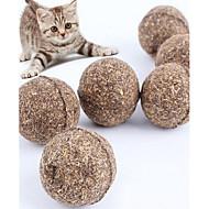 baratos -Brinquedo Para Gato Brinquedo Para Cachorro Brinquedos para Animais Gatária Brinquedo de Provocação Durável Madeira Para animais de