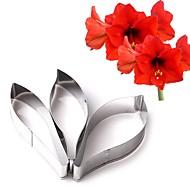 Seturi Forme de Copt Floare pentru Cookie pentru Candy pentru ciocolată Oțel Inoxidabil Nuntă Gril pe Kamado ziua îndragostiților DIY