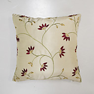 cheap Pillow Covers-1 pcs Polyester Pillow Cover, Embellished&Embroidered Euro