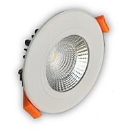 billige Innfelte LED-lys-Led-Nedlys Innfelt retropassform leds COB 400-450lm Varm hvit Kjølig hvit Mulighet for demping AC 220-240 AC 110-130