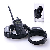 犬しつけようカラー 調整可能 / 引き込み式 防水 充電式 リモートコントロール 電子/エレクトリック しつけ用品 バイブレーション ソリッド ブラック