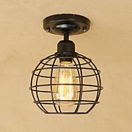 billige Taklamper-Anheng Lys Omgivelseslys - Mini Stil designere, Lanterne Land Retro Rød, 110-120V 220-240V Pære Inkludert