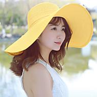 Χαμηλού Κόστους Αξεσουάρ-Γυναικεία Μονόχρωμο Γιορτή Καπέλο ηλίου