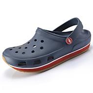 Miehet kengät Kumi Kesä Slingback Puukengät Käyttötarkoitus Kausaliteetti Musta Tumman sininen Purppura