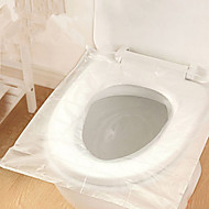 1Box  50Pcs  Disposable Toilet Seat Cover Mat 100% Waterproof Travel Portable Toilet  Pad