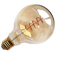 Χαμηλού Κόστους LED Λάμπες με Νήμα Πυράκτωσης-1pc 6 W 550 lm E26 / E27 LED Λάμπες Πυράκτωσης G95 1 LED χάντρες COB Διακοσμητικό / Μαλακό νήμα Θερμό Λευκό 85-265 V / RoHs
