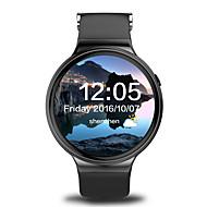 yyi4 menn smartur android smartur iqi i4 støtte 3g wifi gps pulsklokke med 1,39 tommers AMOLED-skjerm 512 MB RAM 8GB rom klokke telefon