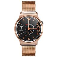 tanie Inteligentne zegarki-Inteligentny zegarek MK12 na iOS / Android Pomiar ciśnienia krwi / Spalone kalorie / GPS / Długi czas czuwania / Odbieranie bez użycia rąk Czasomierz / Powiadamianie o połączeniu telefonicznym