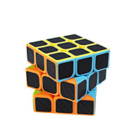 Rubikova kocka Carbon Fiber 3*3*3 Glatko Brzina Kocka Magične kocke Male kocka Mat Kvadrat Poklon