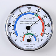 1PC  DIYN/A Thermometers Manual Water Resistant Fahrenheit/Celsius Measurements Battery Plastic