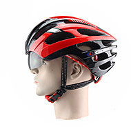 CIGNA Adults Bike Helmet 18 Vents Impact Resistant, Adjustable Fit EPS, PC Road Cycling / Recreational Cycling / Cycling / Bike - Bule / Black / Gray+Green / White / Black / Red