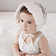 cheap Kids' Accessories-Unisex Hats & Caps, All Seasons Roman Knit Beige