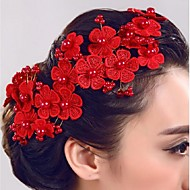 Imitacija bisera Cvijeće Kosa za kosu 1 Vjenčanje Special Occasion Glava