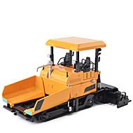 トラック アスファルト舗装機 トラック&工事現場おもちゃ 自動車おもちゃ メタリック 子供用 男女兼用 男の子 女の子 おもちゃ ギフト