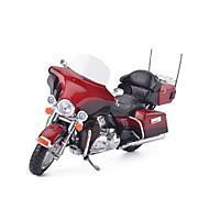 Aufziehbare Fahrzeuge Spielzeugautos Motorräder Spielzeuge Simulation Motorrad Metalllegierung Metal Stücke Unisex Geschenk